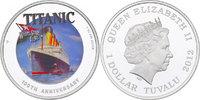 "Tuvalu Dollar ""R.M.S. Titanic - 100th Anniversary"" (im Originaletui mit Zertifikat)"