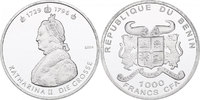 1000 CFA Francs 2003 Benin Katharina II. 'Die Große' (1729 - 1796) min.... 23,00 EUR  zzgl. 9,90 EUR Versand