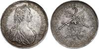 Ag-Medaille o.J. (1745) RDR Maria Theresia...
