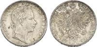 Gulden 1858 E Österreich - Ungarn Franz Joseph (1848 - 1916) vz-stgl.  190,00 EUR  zzgl. 9,90 EUR Versand