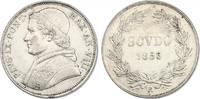 Scudo 1853 R (VIII) Vatikan Pius IX. (1846 - 1878) Av. min. Rf., f.vz  250,00 EUR  zzgl. 9,90 EUR Versand
