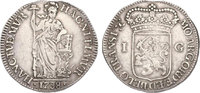 Gulden 1738 Niederlande - Overijssel  ss  60,00 EUR  zzgl. 9,90 EUR Versand