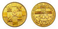 Kroatien 500 Kuna Unabhängigkeit