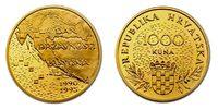 """Kroatien 1000 Kuna """":  Unabhängigkeit"""":"""