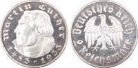 Drittes Reich 2 RM 450. Geburtstag von Martin Luther