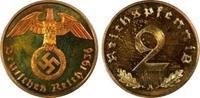 Drittes Reich 2 Rpf 2 Reichspfennig