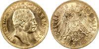 Kaiserreich Sachsen 10 RM Friedrich August III