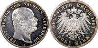 Kaiserreich, Sachsen-Altenburg 5 RM Herzog Ernst (75. Geburtstag)
