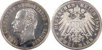 Kaiserreich, Sachsen-Weimar-Eisenach 2 RM Carl Alexander (80. Geburtstag)