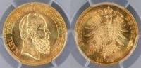 Kaiserreich Württemberg 20 RM König Karl