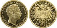 Kaiserreich Preussen 20 RM Wilhelm II