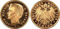 Kaiserreich Bayern 10 RM König Otto, 2. Inschrift