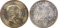Kaiserreich Sachsen 2 RM Friedrich August III
