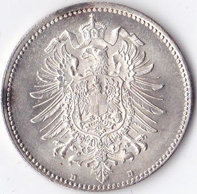 1 Mark 1874 D Deutschland Deutsches Kaiserreich 1871 1918 St Ma Shops