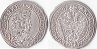 Römisch Deutsches Reich, XV Kreuzer,Wien, Haus Habsburg,Leopold I.,1657-1705,