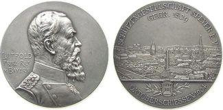 Medaille 1904 Speyer Silber Speyer - auf das 375-jährige Jubiläum der Schützengesellschaft, Brustbild fast vz