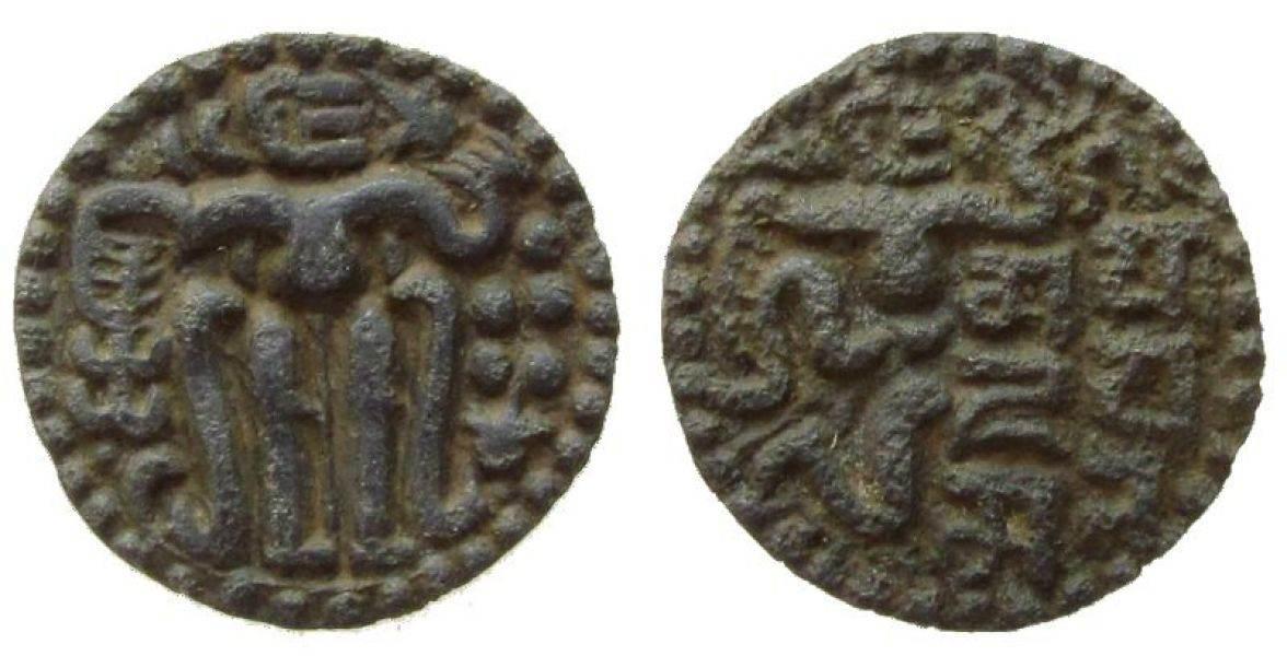 AE-Einheit 1200-02 o.J. Ceylon Ku Sahasa Malla, 1200-1202 ss