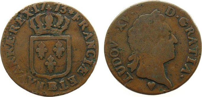 Sol 1773 Frankreich Ku Louis XV, BB (Strasbourg) schön