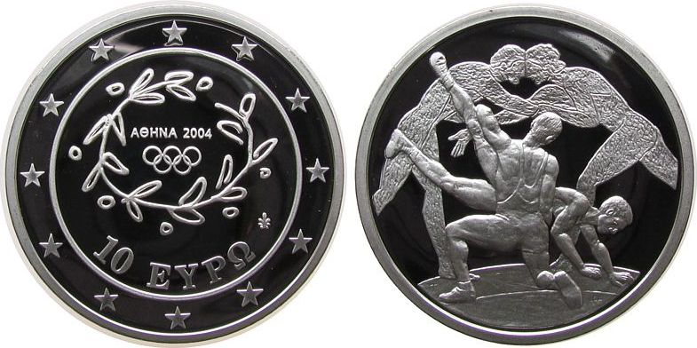 10 Euro 2004 Griechenland Ag Olympiade, Ringer pp