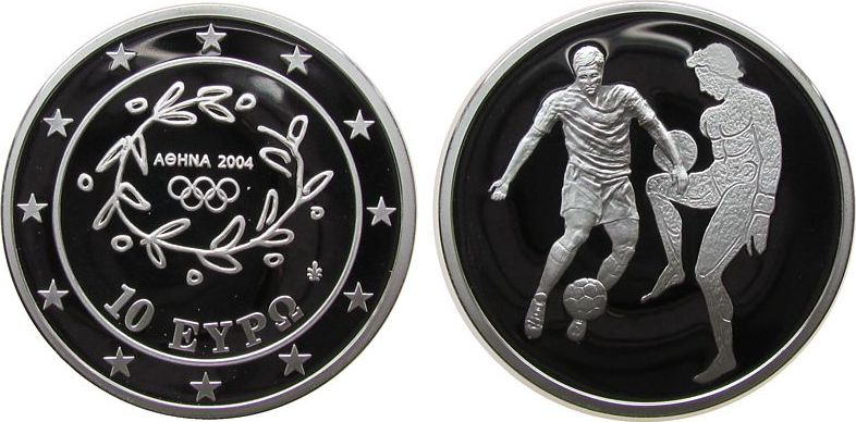 10 Euro 2004 Griechenland Ag Olympiade, Fußball pp