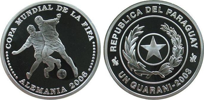 1 Guarani 2003 Paraguay Ag Zweikampf, Fußballweltmeisterschaft in Deutschland 2006 pp
