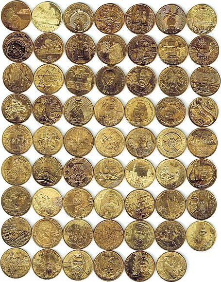 2 Zlote 2003 - 2011 Polen Ms Lot zu 62 Münzen, Münzen etwas angelaufen, für größeres Bild http://www.muenzen-hardelt.de/pl-satz2z.jpg unz
