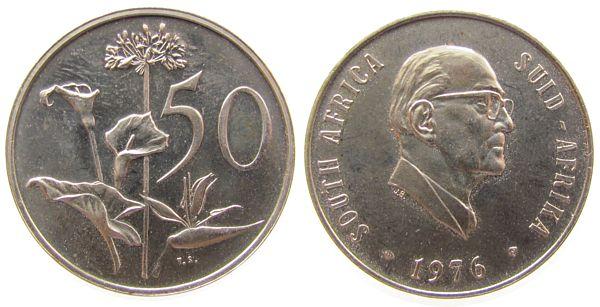 50 Cent 1976 Südafrika Ni Fouche pp