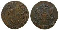 Rußland 5 Kopeken Ku Katharina II, AM