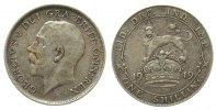 Großbritannien 1 Shilling Ag Georg V, Seaby 4013