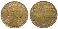vor 1914 Medaille Bronze Wilhelm I. (1861-1888), auf seine Krönung am 18. Oct. 1861 in Königsberg,