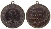 vor 1914 tragbare Medaille Bronze Wilhelm II (1888-1918) Preußen, auf den Regierungsantritt 1888, ca. 22,7