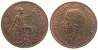 Großbritannien 1 Penny Br Georg V