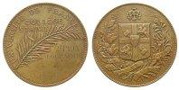 Frankreich Preismedaille Bronze College Stanislas (Paris), Palmzweig - 2. Preis in Geographie / Wappen de
