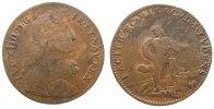 Frankreich Jeton Bronze Louis XIV (1643-1715), auf den Wiederaufbau, Mitchiner 3364