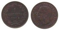 Italien 1 Centesimo Ku Emanuel III, 1905/0, R (Rom), etwas Belag