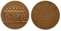 Speyer Medaille Bronze Speyer - Stadt - auf die Enthüllung der Fürstenstandbilder, Standbild / S