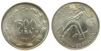 Türkei 1500 Lira Ag FAO