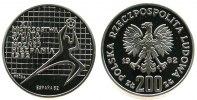 Polen 200 Zlotych Ag Fußball WM, Probe, Torwart nach rechts
