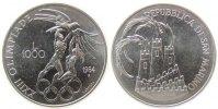 San Marino 1000 Lire Ag Sommerolympiade