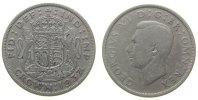 Großbritannien 1 Crown Ag Georg VI, S4078