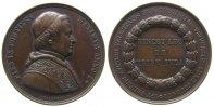 Vatikan Medaille Bronze Pius IX (1846-78) - auf seine Wahl, Brustbild nach rechts / Mehrzeiler im