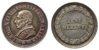 Vatikan Prämienmedaille Silber Leo XIII (1878-1903) - für Verdienste, Büste nach rechts / Bene Merenti,