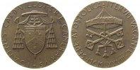 Vatikan Medaille Bronze Sede Vacante - Johannes Kardinal Villot, v. R. Vistoli, ca. 40 MM, etwas
