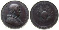 Vatikan Medaille Bronze Gregor XVI (1831-1846) - auf den Erfolg der Lyoneser Enzyklika, Brustbild