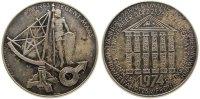 Kalendermedaille Medaille Silber Mars, v. Köttenstorfer, ca. 40 MM, ca. 25,76 Gramm, Punze VS: A900, etwas