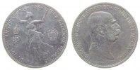 Österreich 5 Kronen Ag Franz Joseph I,Ruhmesgöttin, J 397