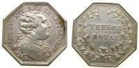 Frankreich Jeton Silber Louis XVI (1774-1793) - Tresor Royal, Émission de 1786, v. Duvivier, ca.