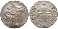 Münchner Medailleure Medaille Bronze versilbert Bayern, des Bayrischen Industriellen Verbandes für langjährige
