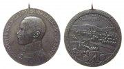 Schützen tragbare Medaille Silber Neuwied - auf das XXVII. Rheinische Bundesschiessen, Brustbild von Protek