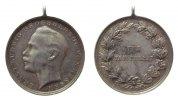 vor 1914 tragbare Medaille Silber Ernst Ludwig Großherzog von Hessen (1892-1918), für Tapferkeit, ca. 33,2